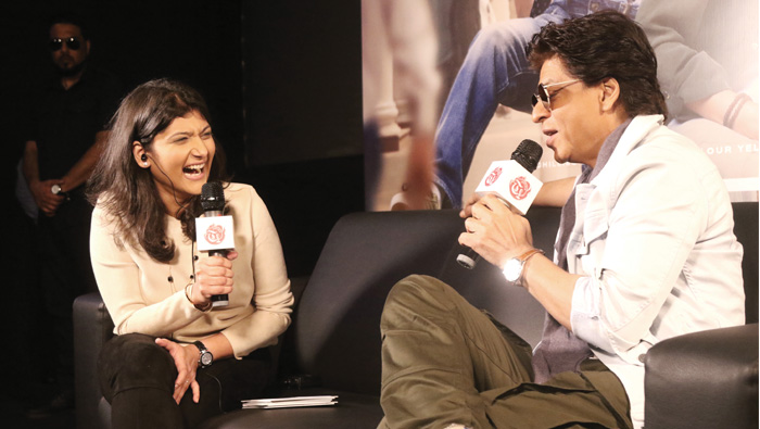 Always nice to return to a place that gives back so much warmth and love: Shah Rukh Khan