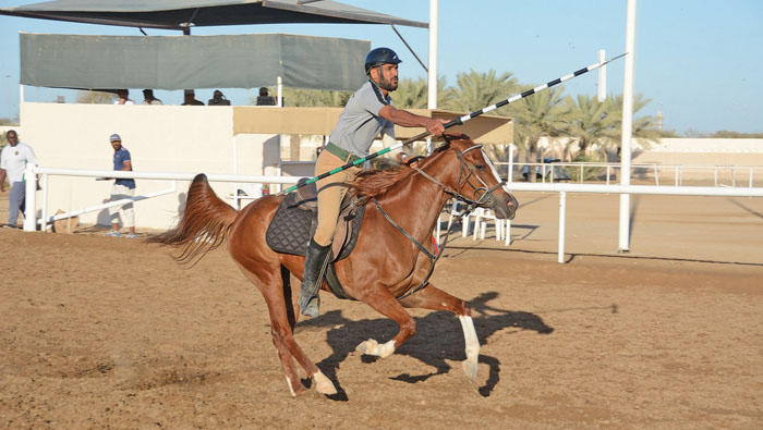 Royal Cavalry claim first place in equestrian meet