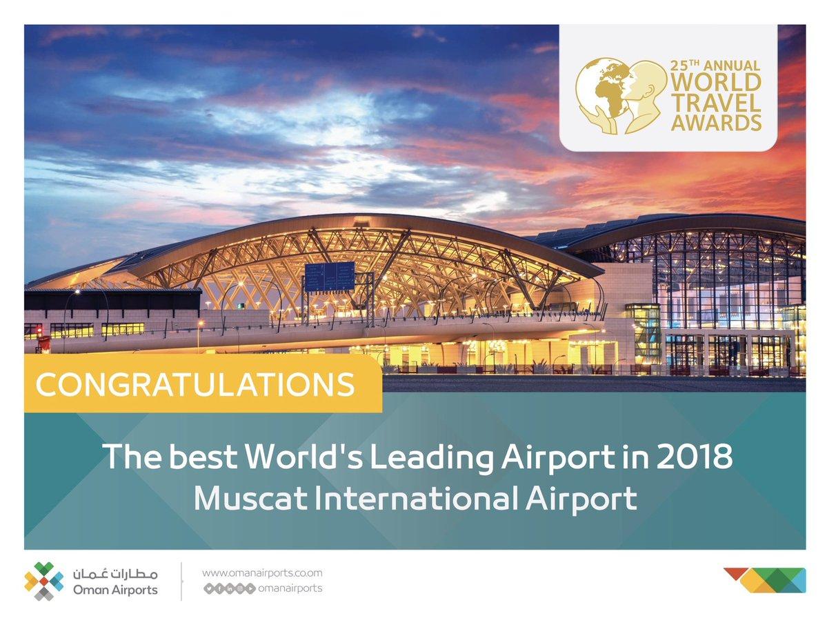 Muscat International Airport wins prestigious award
