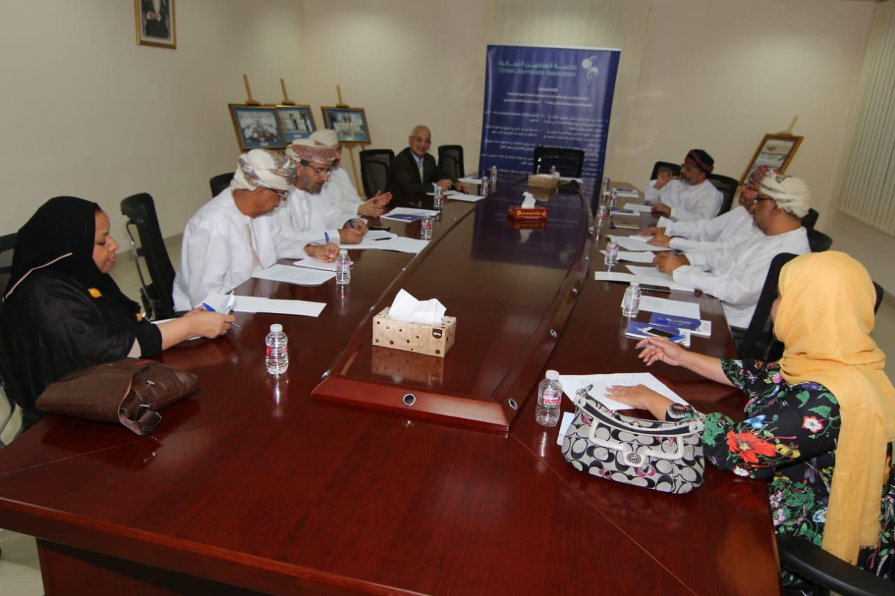الهيئة الاستشارية لجمعية الصحفيين تناقش اختصاصاتها
