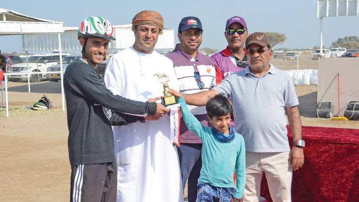Ammar bags first place in endurance race