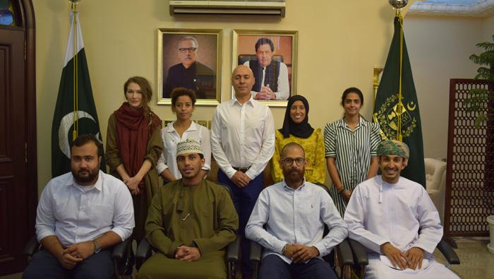 'Pakistan Awaits' initiative welcomed by ambassador