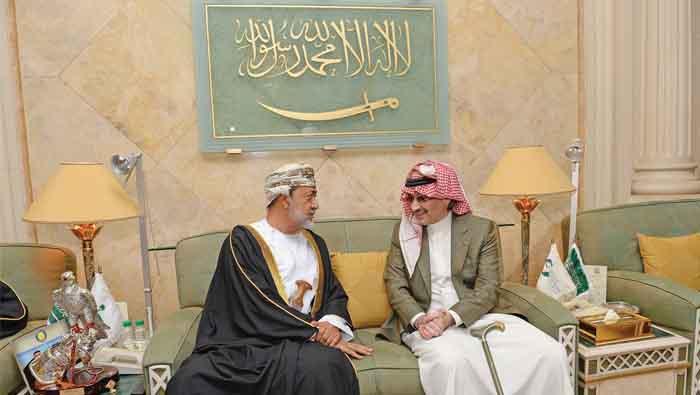 Sayyid Haitham conveys His Majesty's condolences to Saudi King