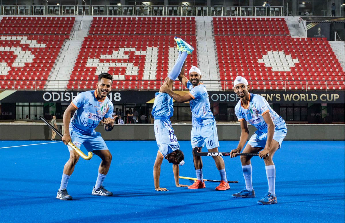 On the Ball: India's players are fired up for the Hockey World Cup