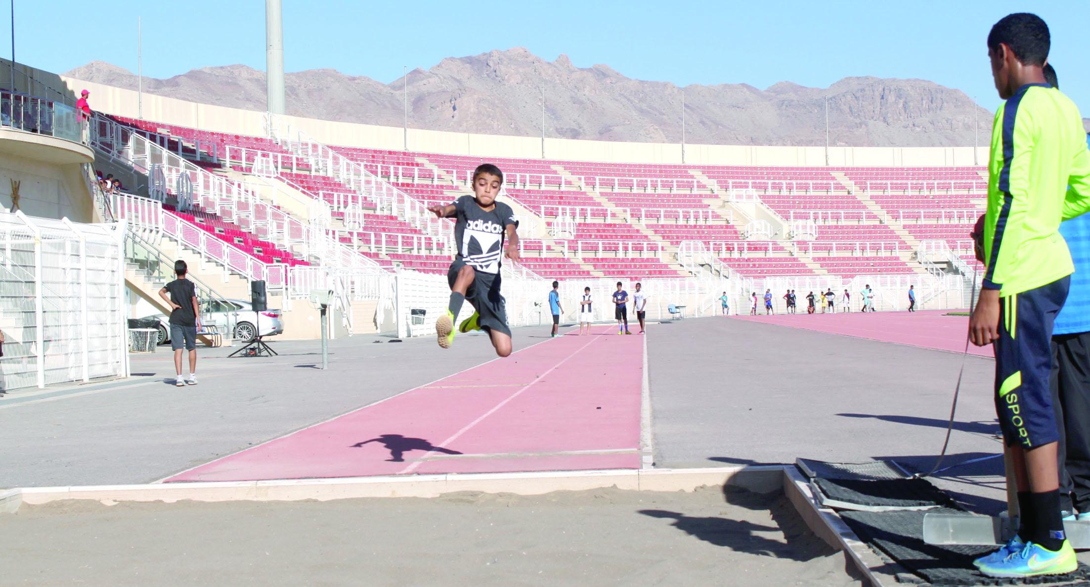 ختام مسابقات ألعاب القوى لمدارس محافظة الداخلية