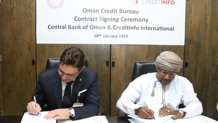 CBO signs pact to set up Oman Credit Bureau
