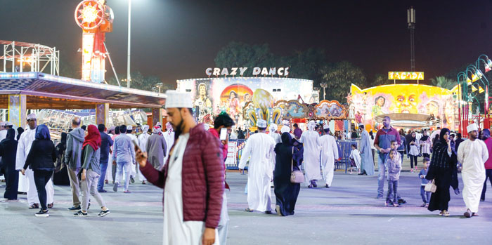Muscat Festival: Entertaining rides at Naseem Garden add fun element