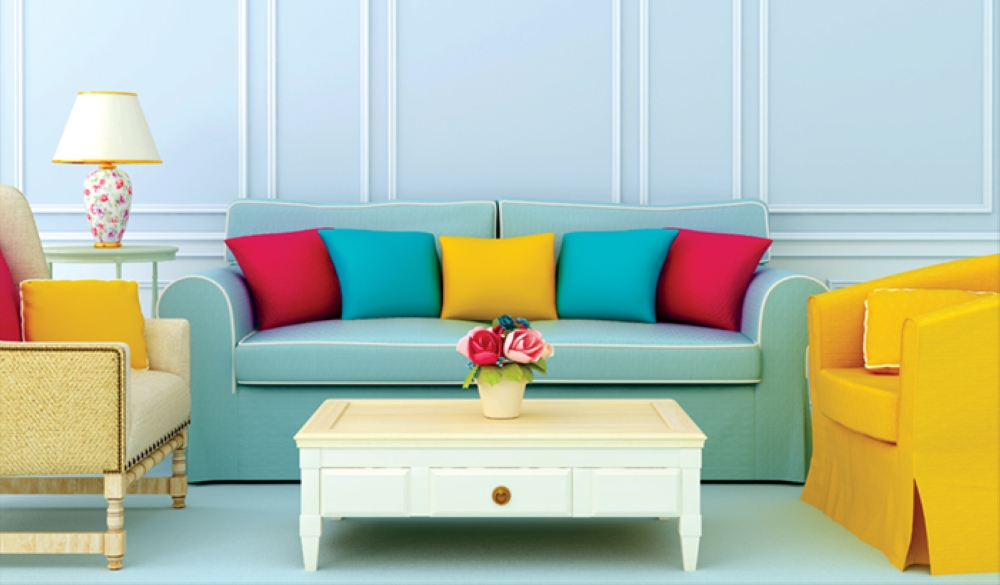 Bring more colour to your home