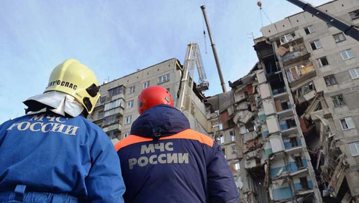 Rescuers pull more bodies from rubble of Russian gas explosion