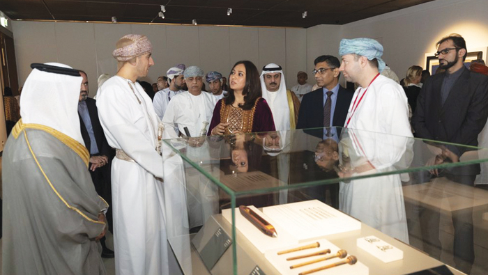Art exhibition opened by HH Sayyid Kamil