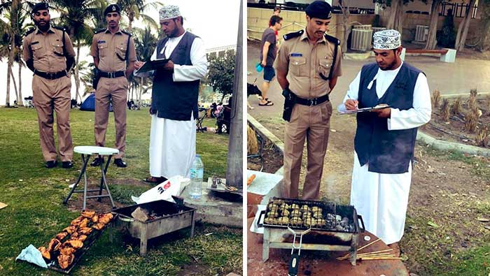 Muscat Municipality announces fine for illegal barbecuing