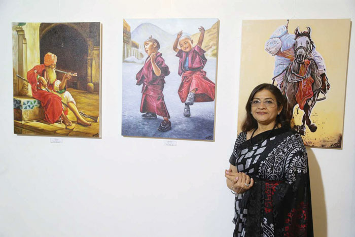 Open-mindedness is the secret of my success, says Oman artist