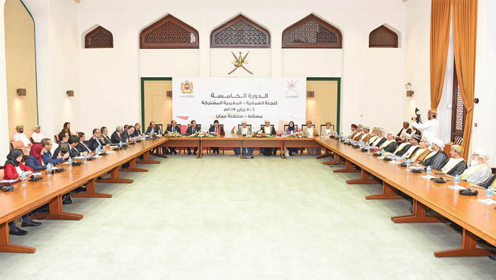 Oman, Morocco committed to joint action on Arab issues