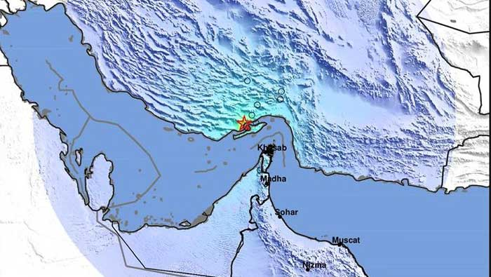 Magnitude 5.4 earthquake recorded 100 km from Oman