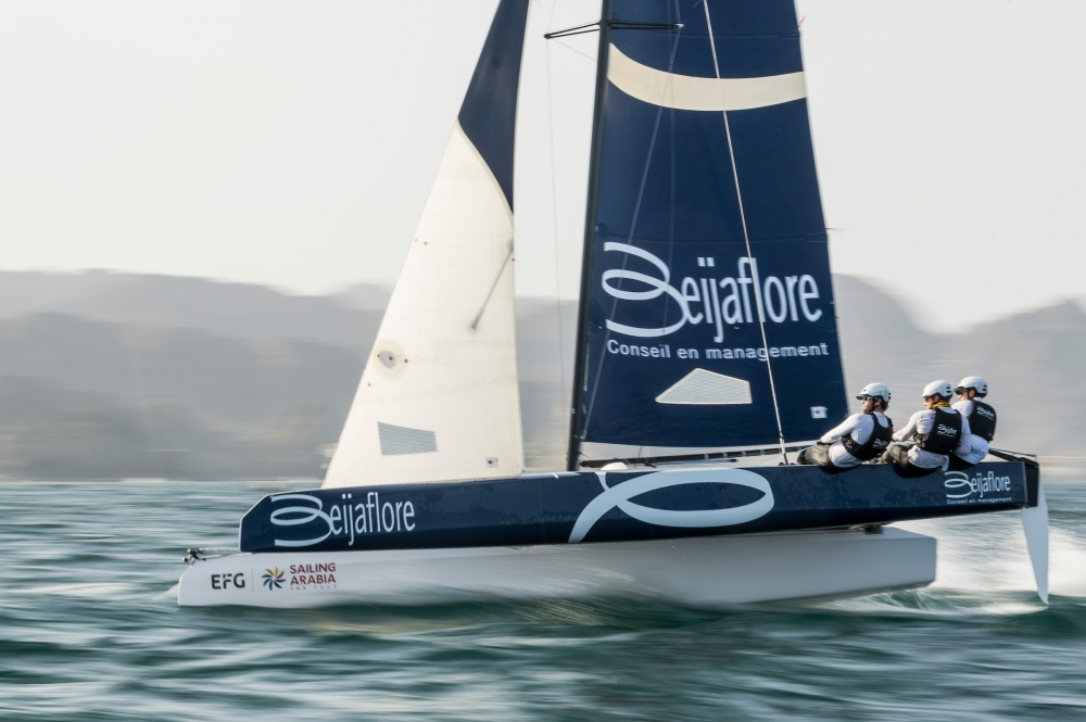 EFG Sailing Arabia - The Tour rolls a perfect six on the last day's racing in Masirah