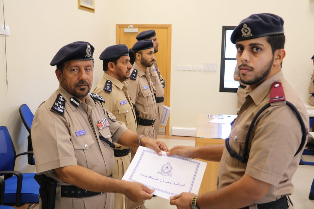 اختتام دورة تدريبية لشرطة المهام الخاصة