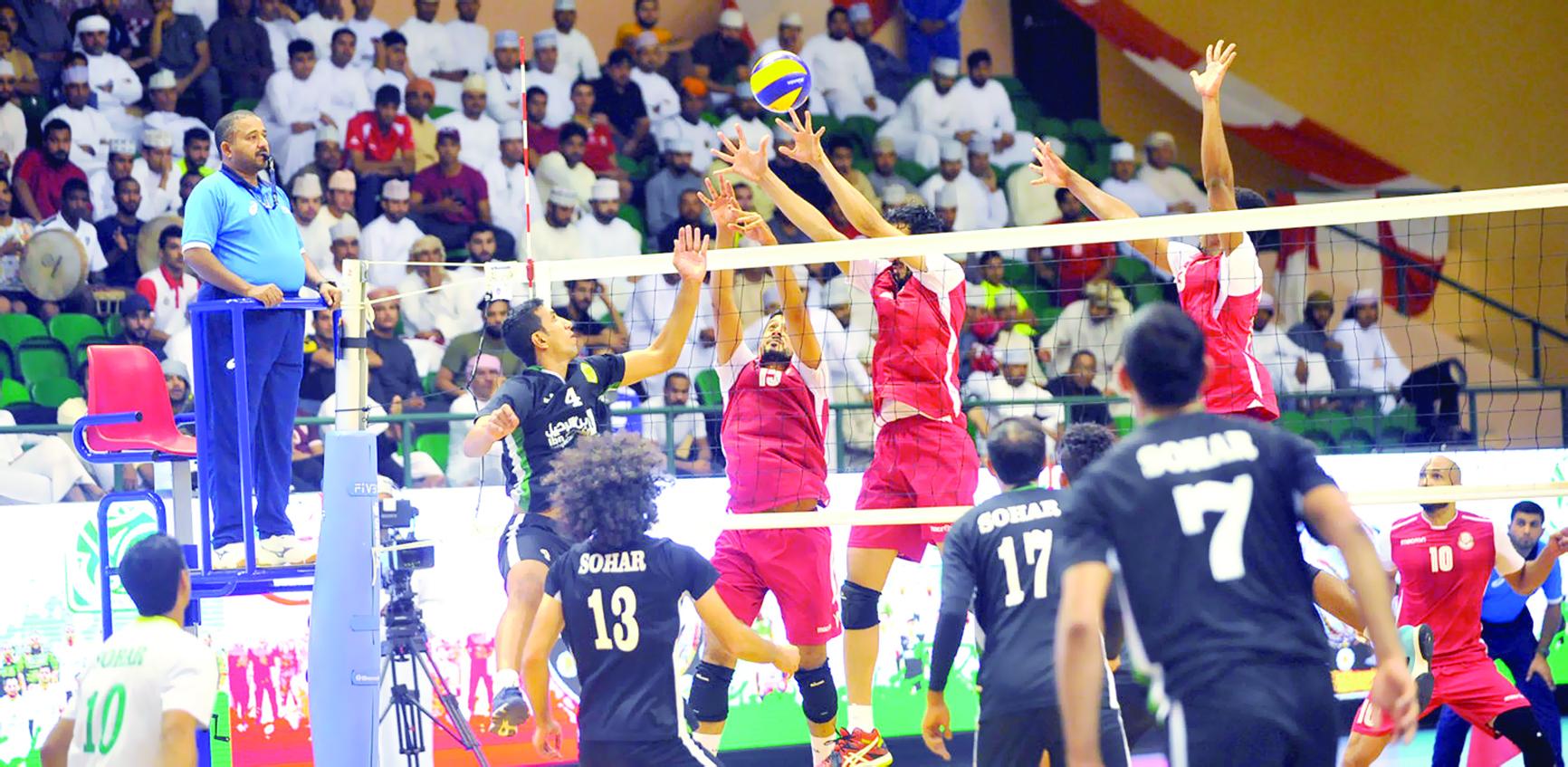 طائرة صحار تقلع لتونس للمشاركة في البطولة العربية