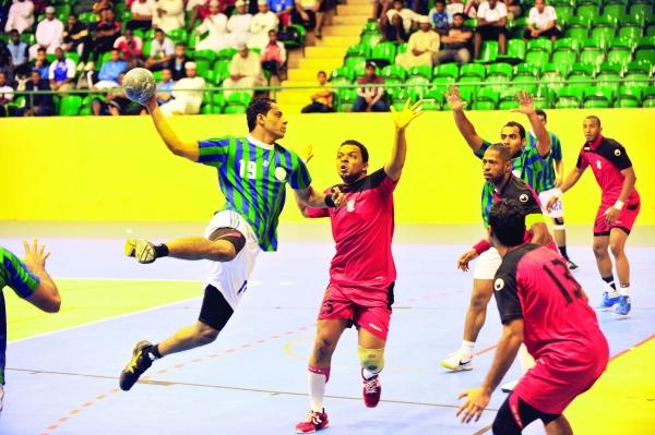 نادي عمان ومسقط...من يفوز بلقب دوري اليد؟