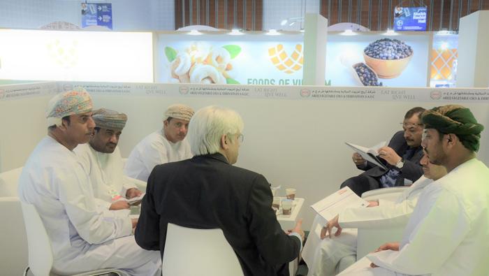 Oman's pavilion draws big turnout at Gulfood 2019