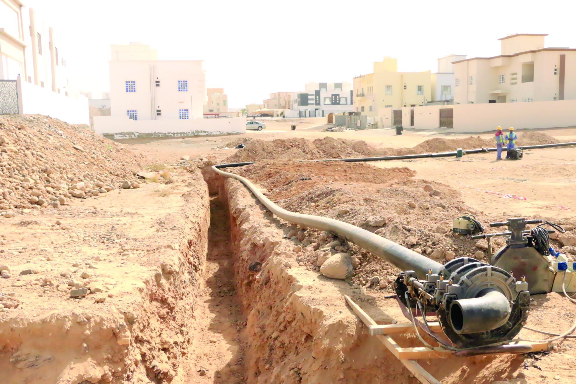 """""""ديم"""" تطرح مناقصات لشبكات المياه في شمال الباطنة والشرقية"""