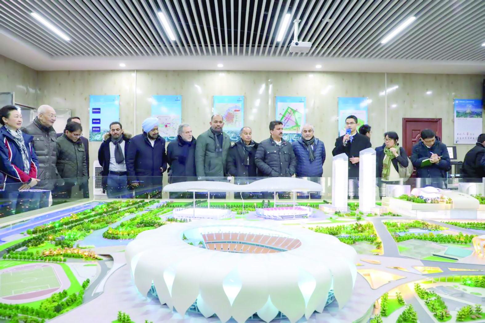 الكشري يشارك بالاجتماع الأول للجنة التنسيق والمتابعة لدورة الألعاب الآسيوية التاسعة عشرة (هانجو 2022) بالصين