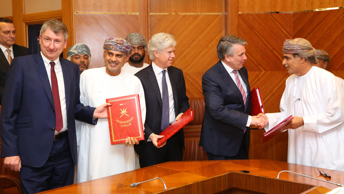 Shell inks gas development pact in Oman