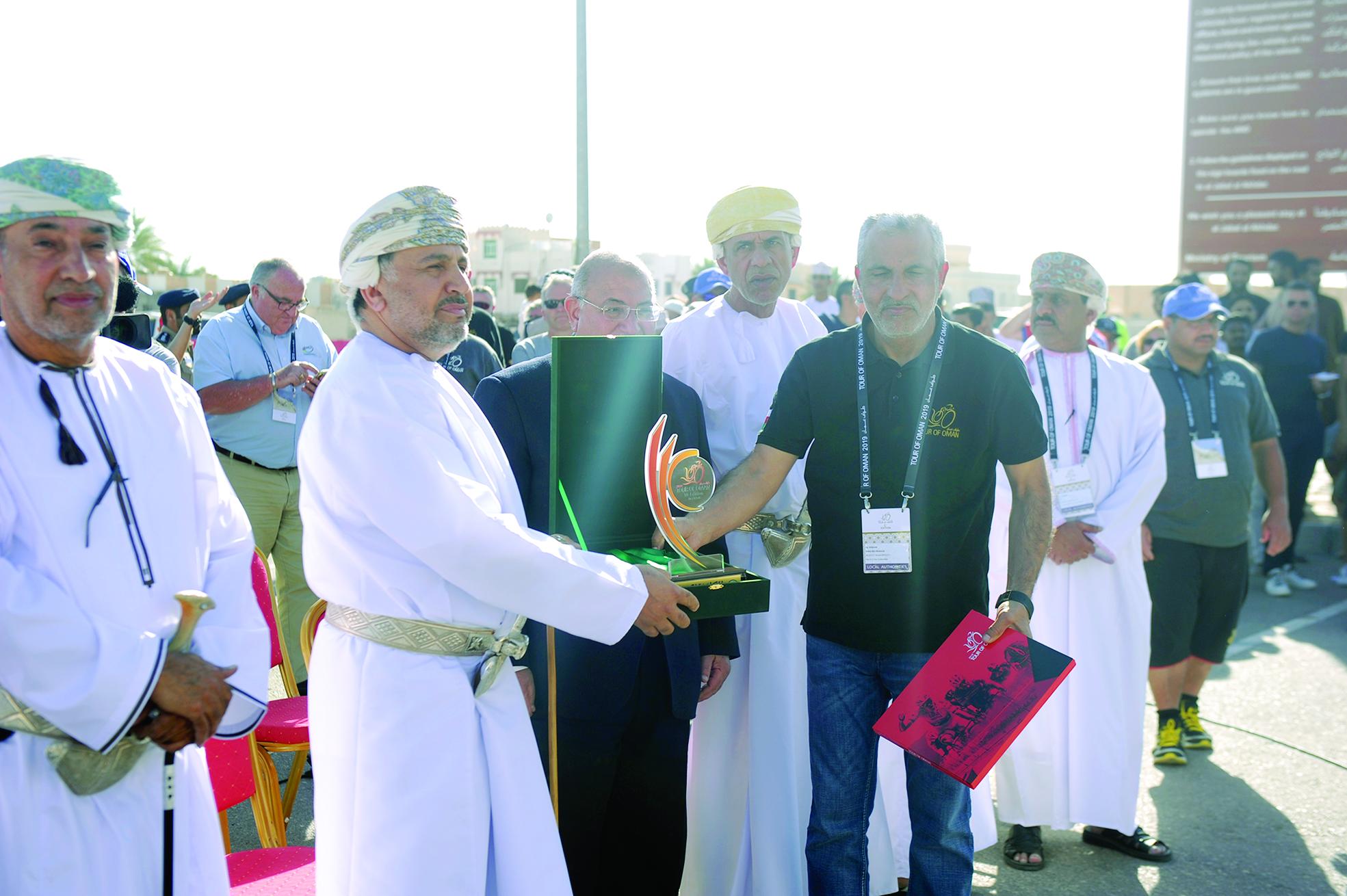 لوتشينكو بطلا للمرة الثالثةاليوم.. إسدال الستار على منافسات طواف عمان 2019