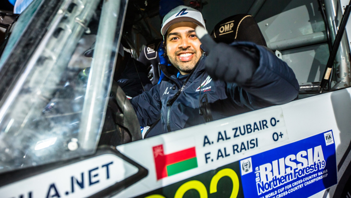 Abdullah eyes Qatar rally after Russian podium