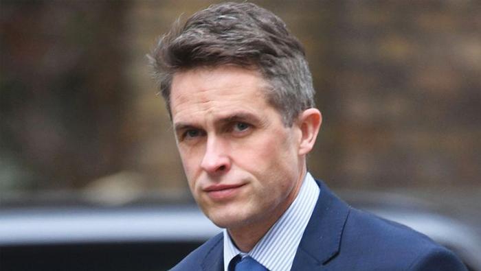 British Defence Secretary arrives on official visit