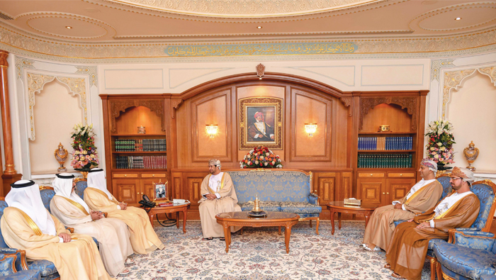 Royal Office Minister receives UAE economy minister