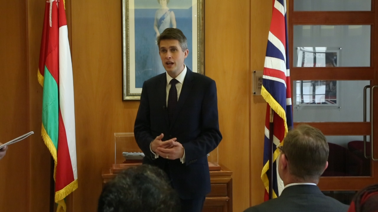 Oman plays a critical role in regional peace, stability: UK Defence Secretary