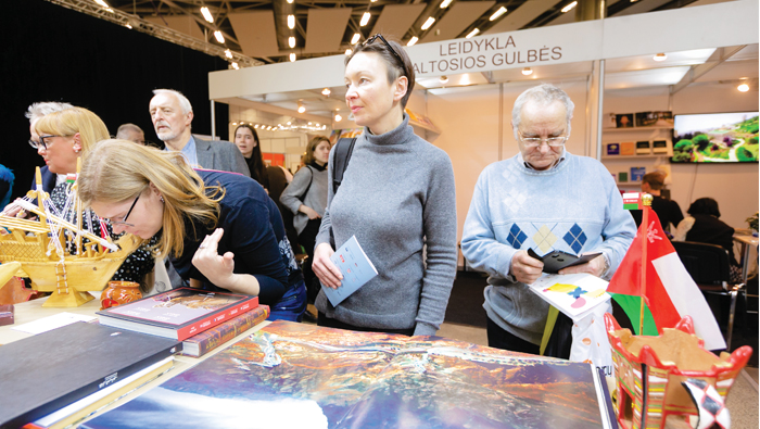 Oman stand at Vilnius book fair a hit with visitors