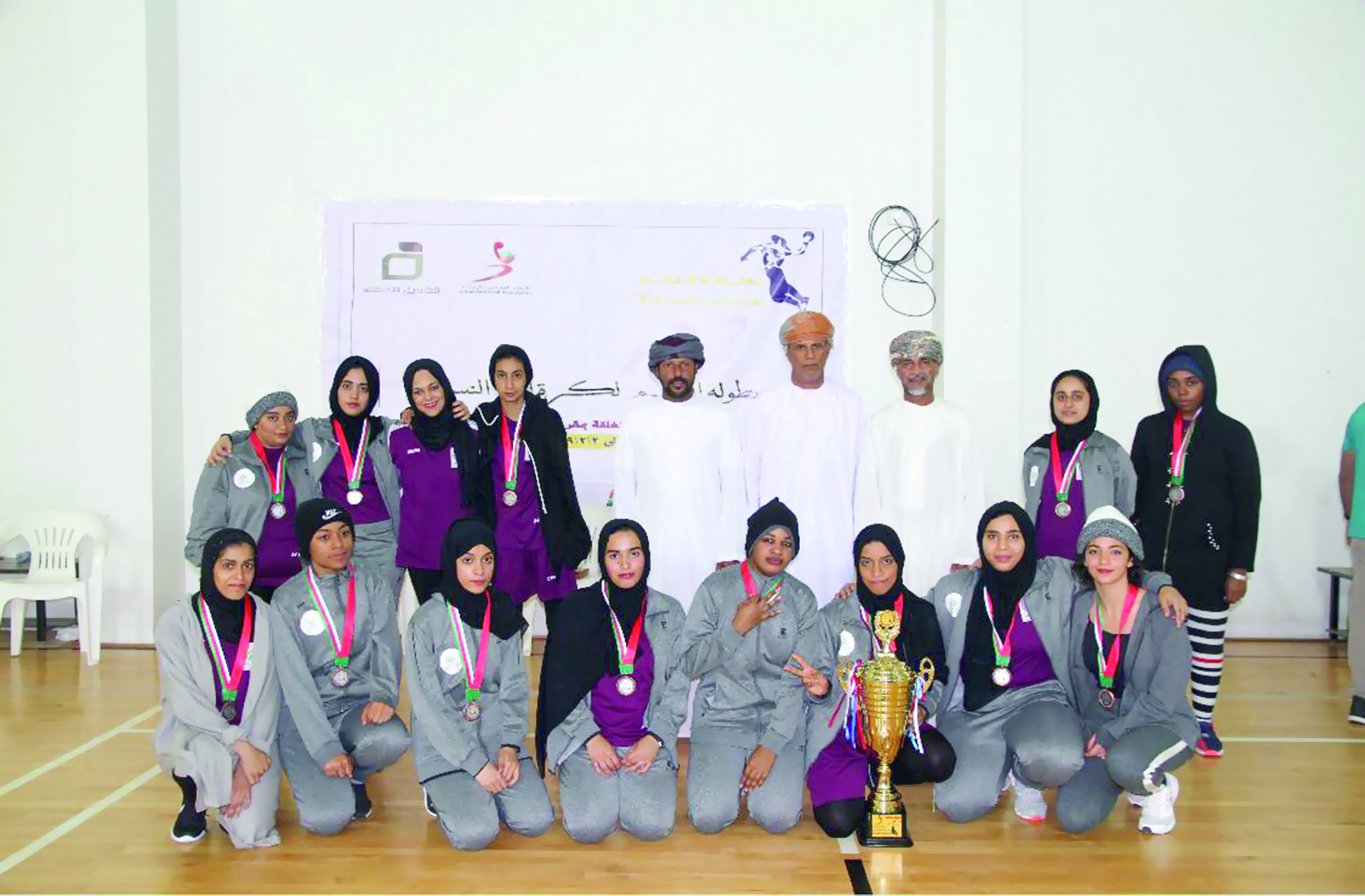 في نسختها الأولى7 فرق تثري بطولة الدقم للنساء لكرة اليد
