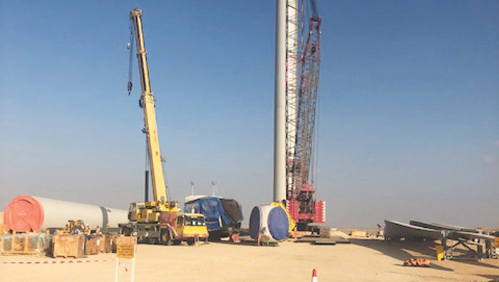 Work on Dhofar Wind Power Project 81 per cent  complete