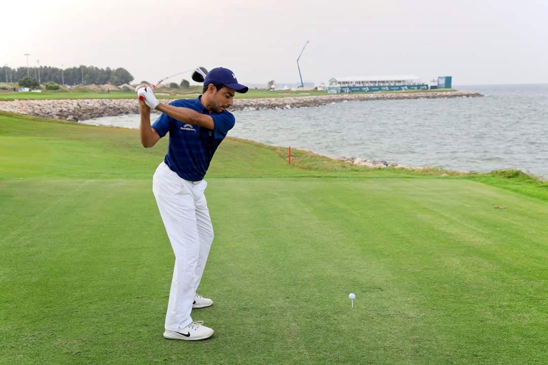 Golf: Oman Open second round suspended