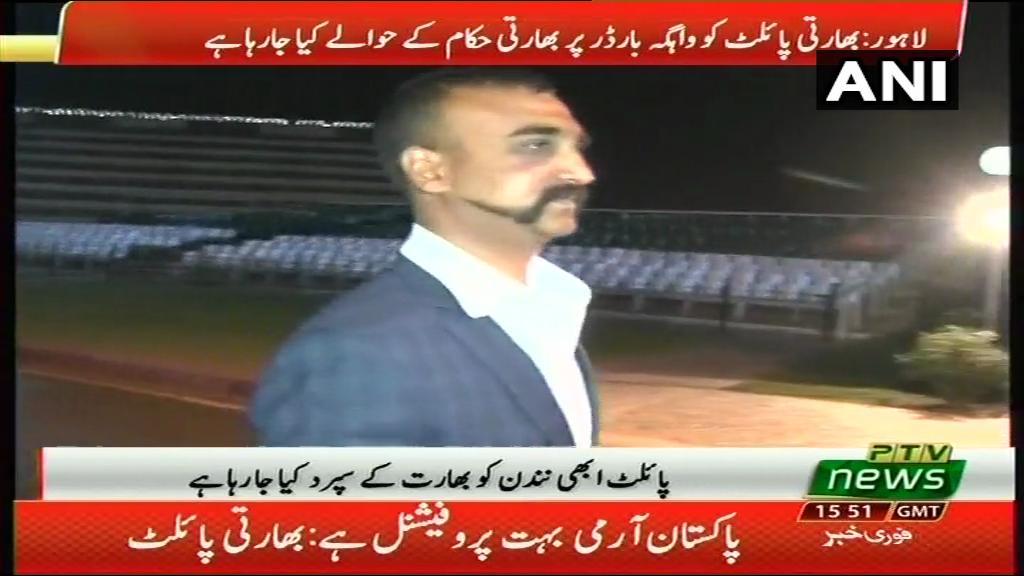 Pakistan frees captured Indian pilot