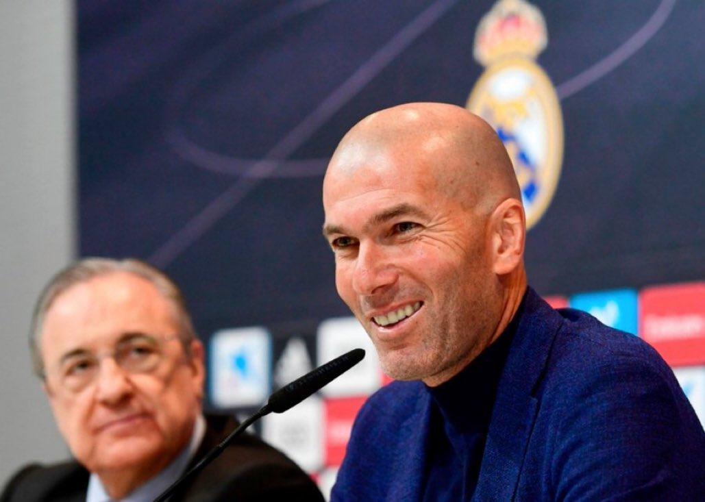 تقارير..زيدان يعود لتدريب ريال مدريد والإعلان الرسمي خلال ساعات