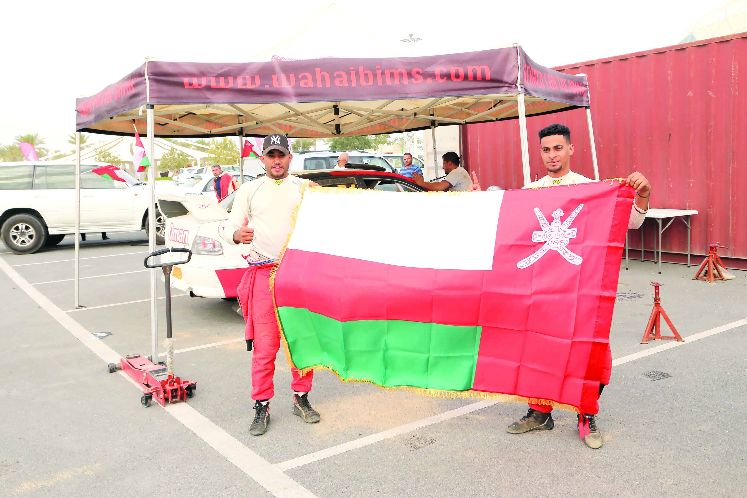 جراح الطوقي أولا في المحلي وناصر العطية في الدولي في رالي قطر الدولي