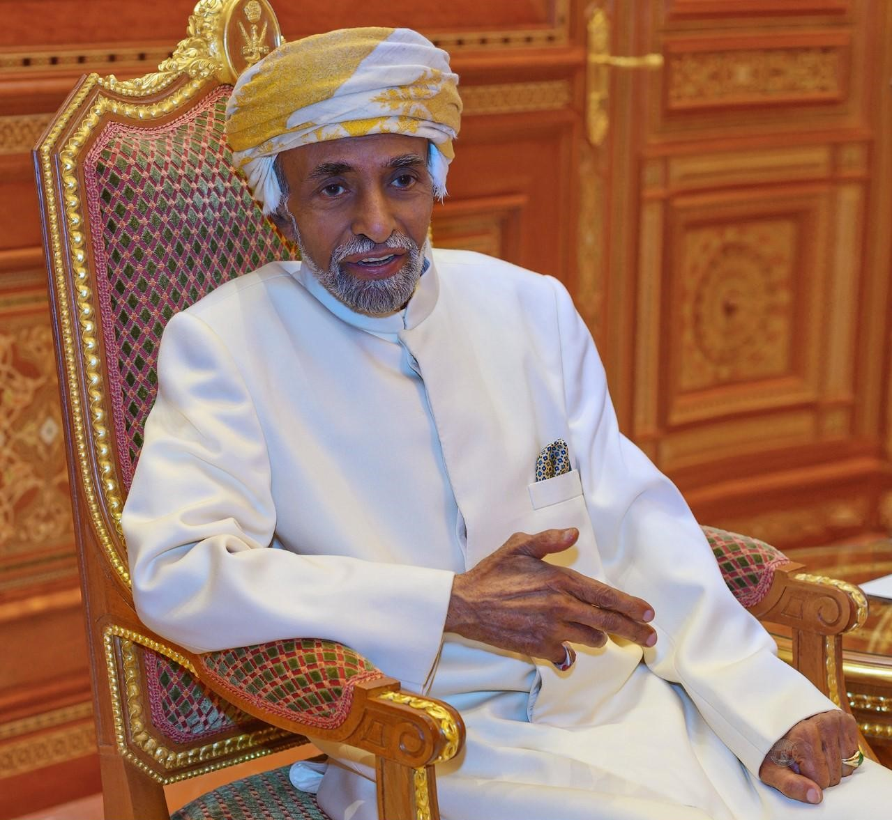 In Pictures: His Majesty Sultan Qaboos meets UK Foreign Minister