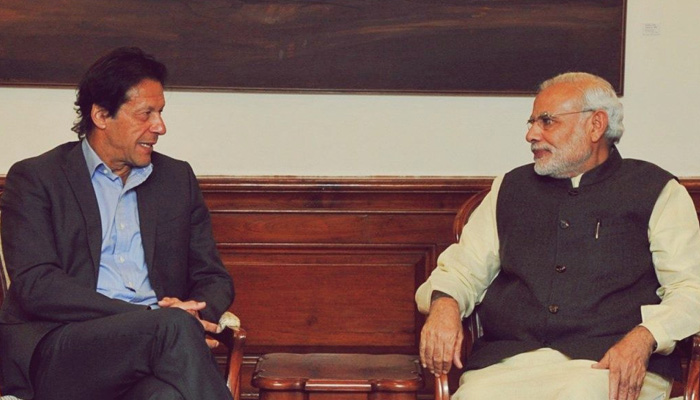 Imran Khan receives message from Modi