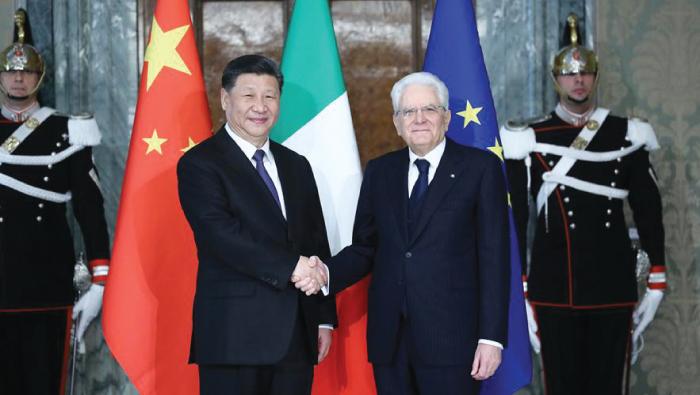 China, Italy push for strategic partnership