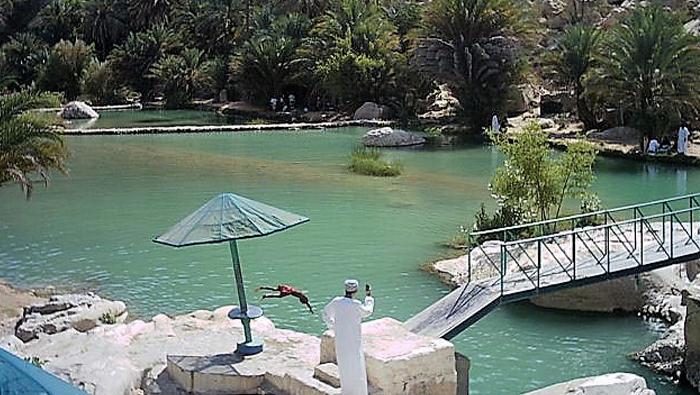 Over 180,000 tourists visited Wadi Bani Khalid in 2018