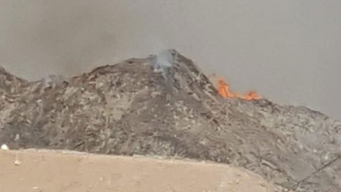 Fire breaks out in PDO Concession Area