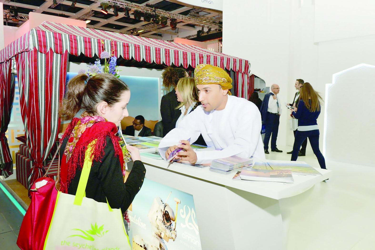 يشهد إعلان السياحة شريكا رسميا لدورة العام 2020السلطنة تشارك في معرض بورصة السفر العالمي ببرلين