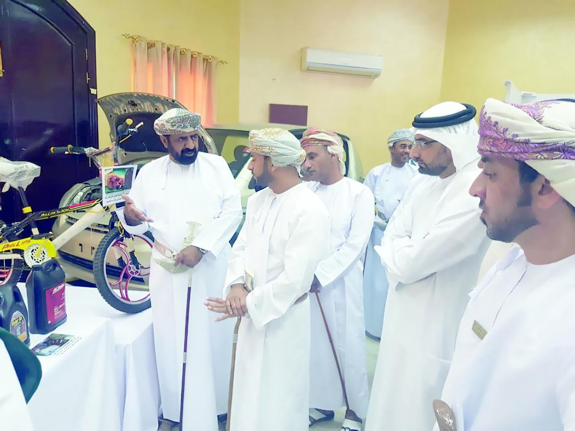 افتتاح أسبوع المستهلك الخليجي بدبا