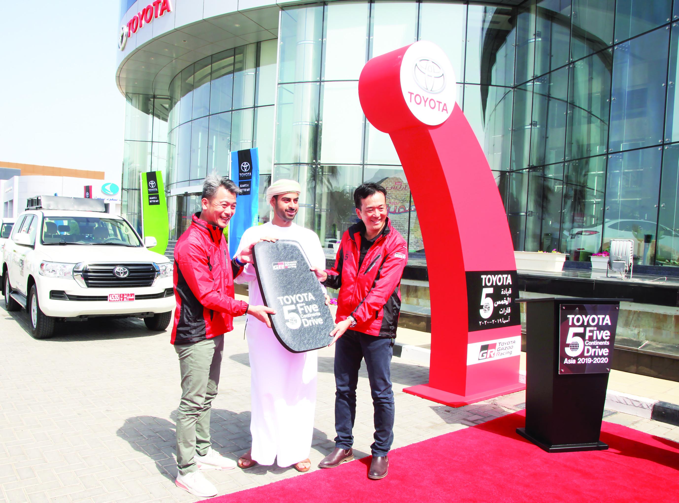 سعود بهوان تنظم فعالية تويوتا للقيادة في الخمس قارات
