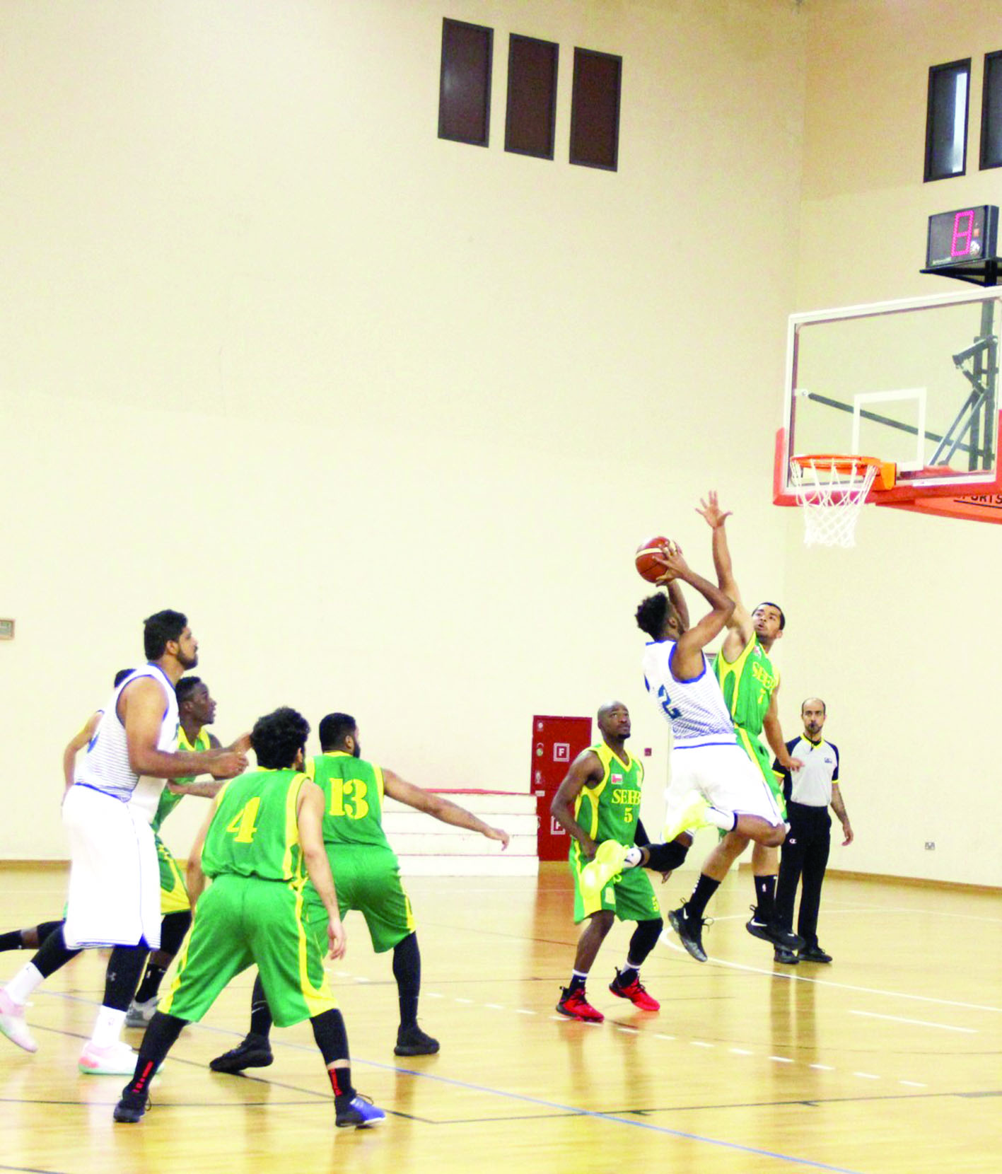 الجمعة.. انطلاق منافسات درع وزارة الشؤون الرياضية لكرة السلة