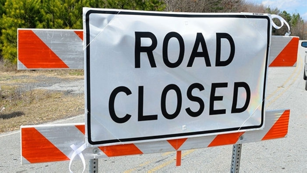 This road in Oman will be closed for the weekend