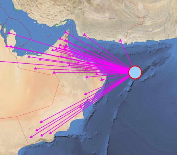 4.8 magnitude quake jolts Arabian Sea