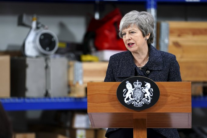Brexit may never happen if deal rejected: May